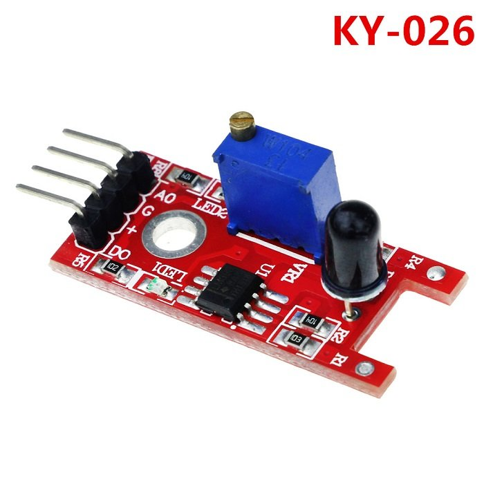 KY-026 IR Flame Sensor Fire Detection Module