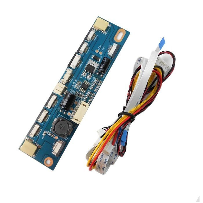 Universal LCD LED Backlight Inverter Board with Cables
