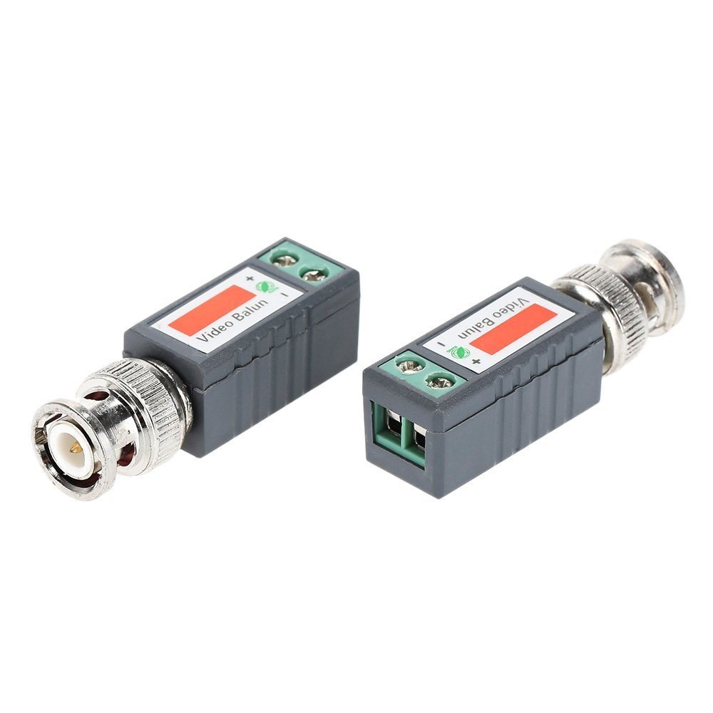 Cctv Video Balun Passive Transceivers Bnc To Cat5 Price In Pakistan Black